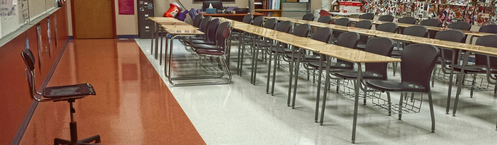 school cleaning and maintenance